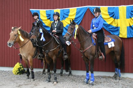 Prisutdelning Barrel Race - Dreamgirl ox och Etch ox